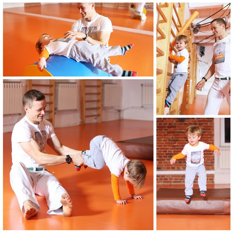 Capoeira dla najmłodszych